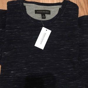 Banana Republic Core Temp Waffle Knit Shirt NWT S